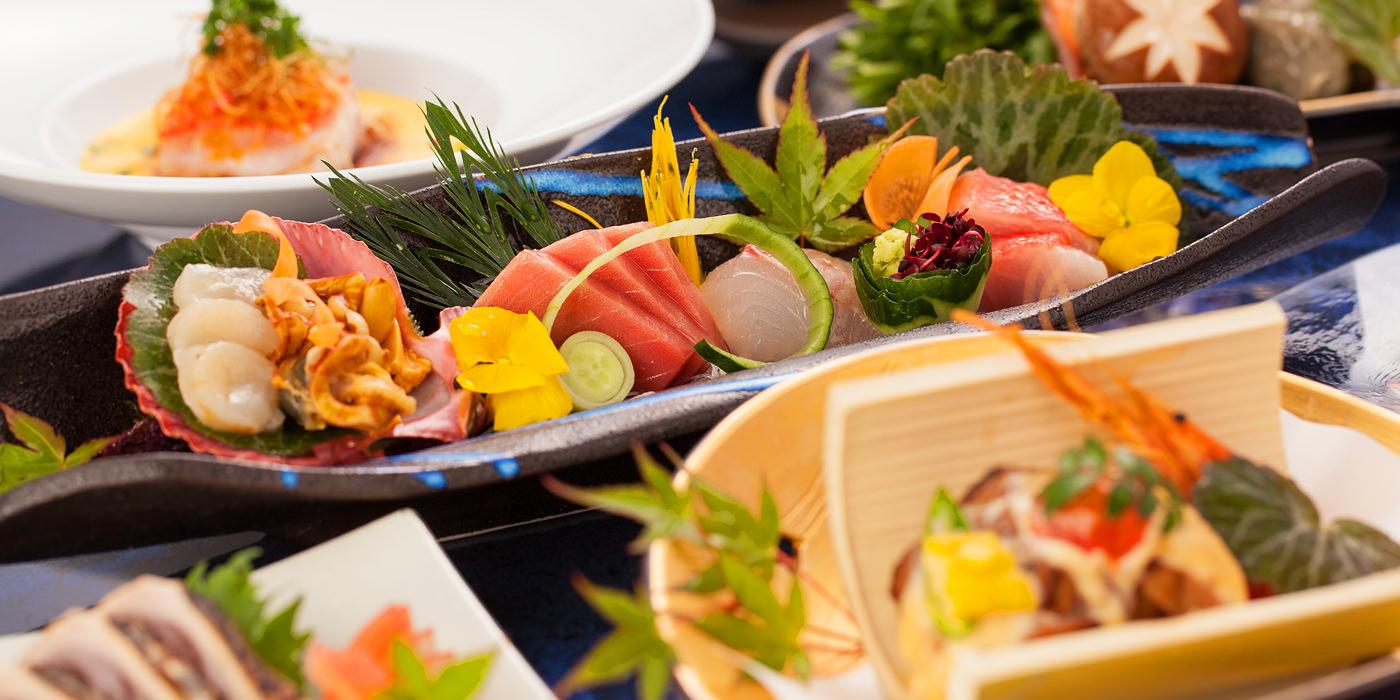 三翠園の料理
